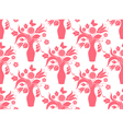 Bouquet repeat pattern vector