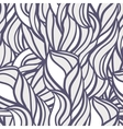 Abstract pattern with curl and swirl vector