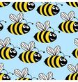 Amusing bees vector