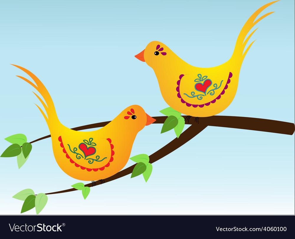 Birds vector | Price: 1 Credit (USD $1)