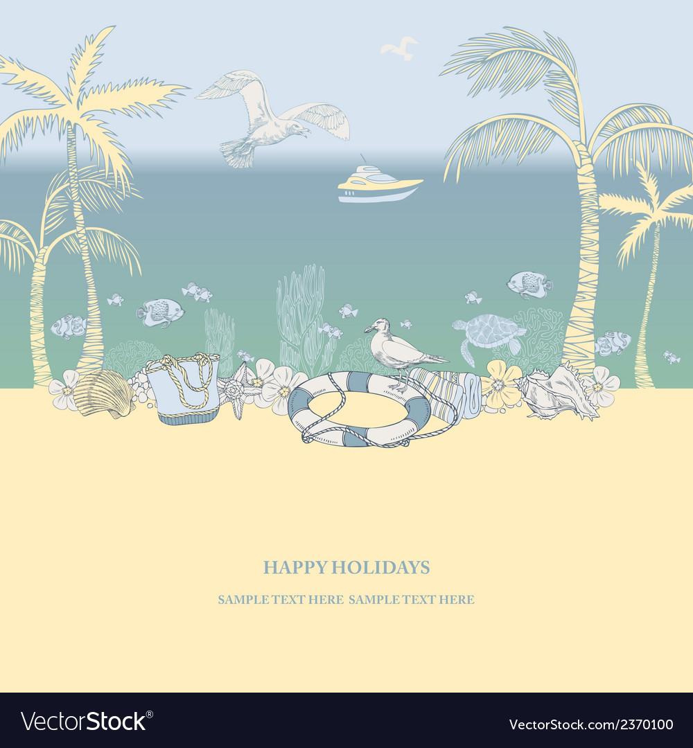 Happy holiday vector | Price: 1 Credit (USD $1)