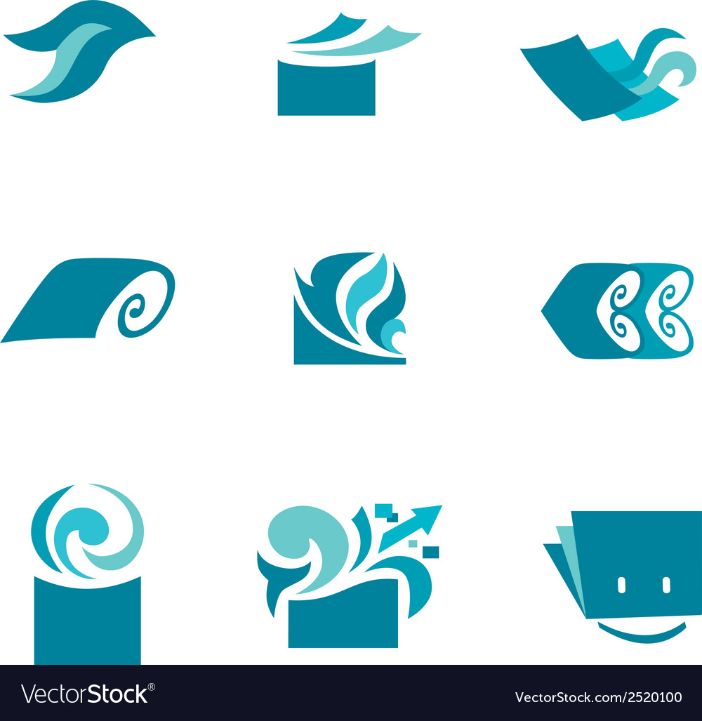 Marketing icons vector | Price: 1 Credit (USD $1)