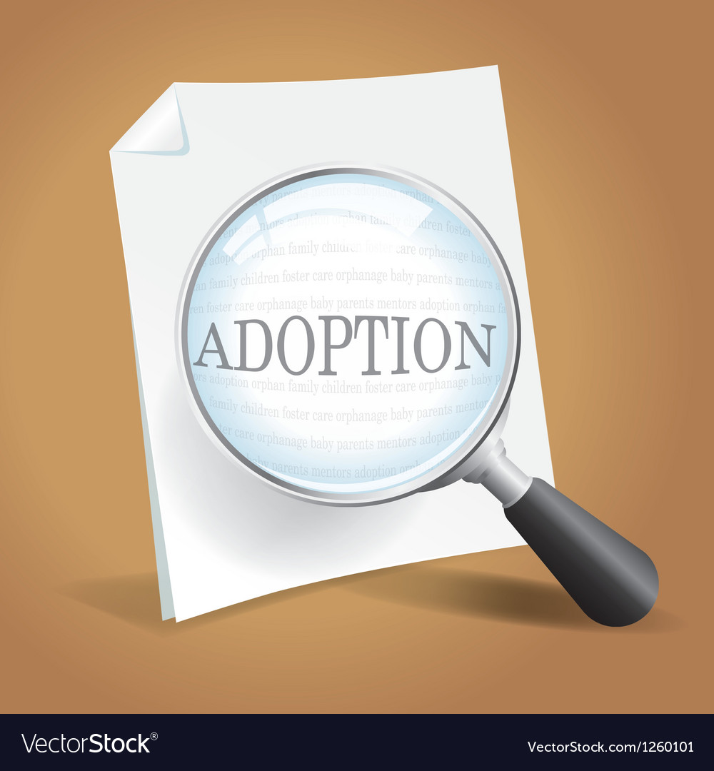 Adoption papers vector   Price: 1 Credit (USD $1)