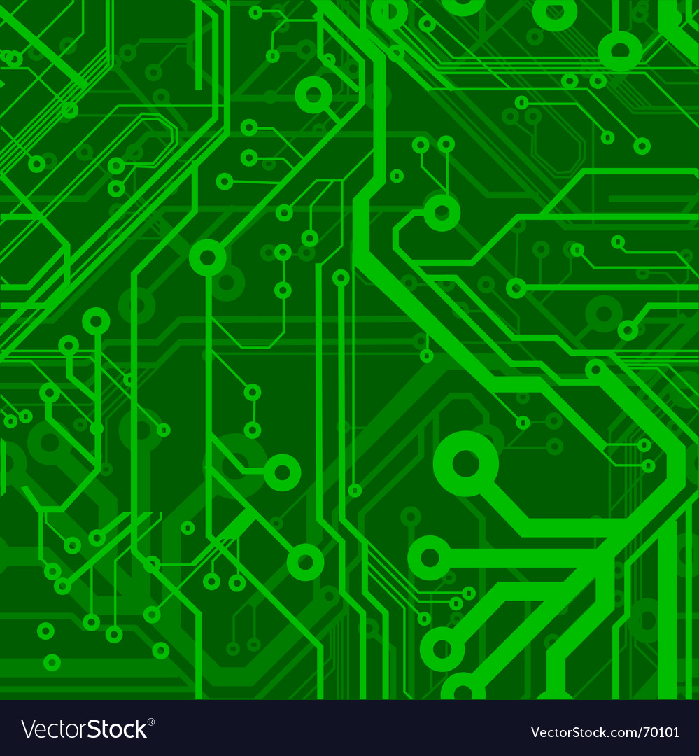 Circuit board pattern vector | Price: 1 Credit (USD $1)