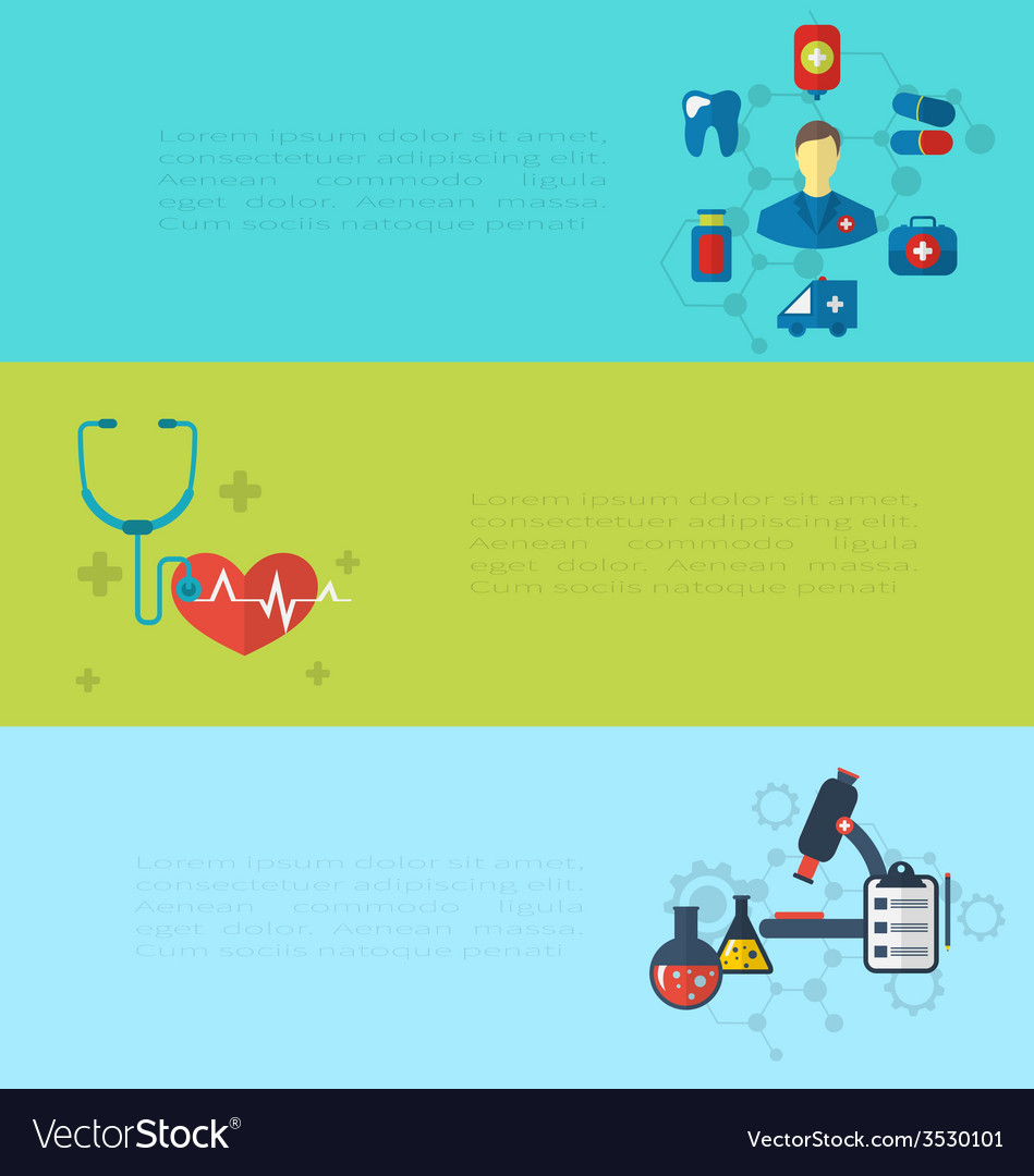 Concept of medical diagnostics hospital clinic vector | Price: 1 Credit (USD $1)