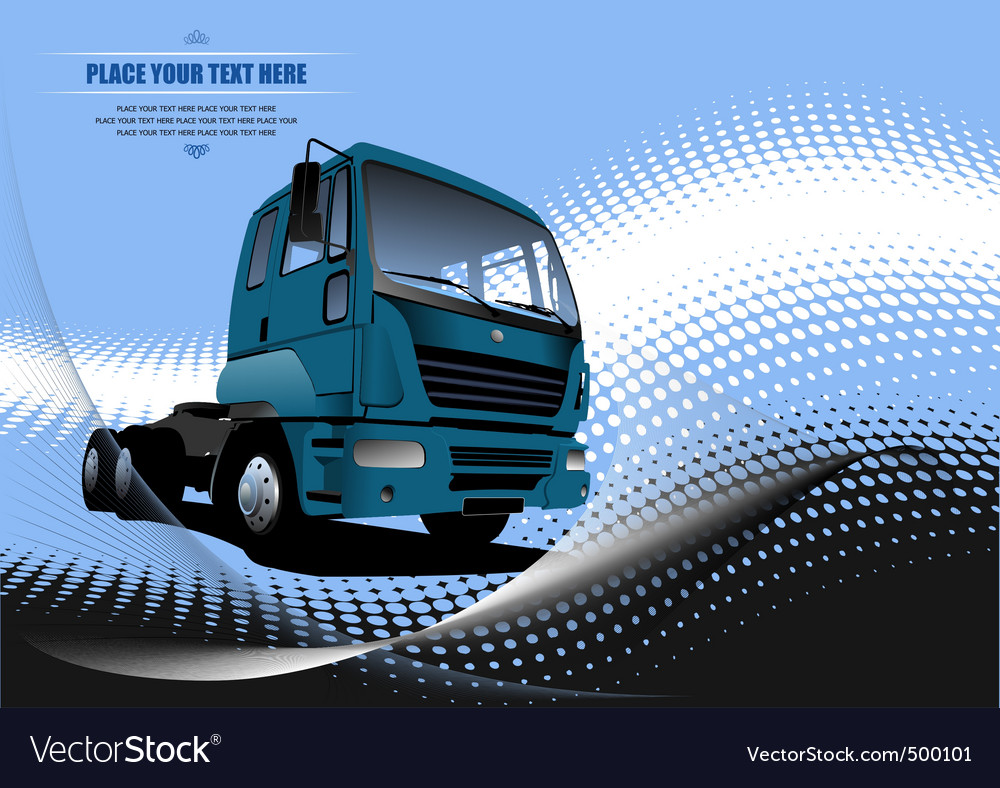Lorry vector | Price: 1 Credit (USD $1)