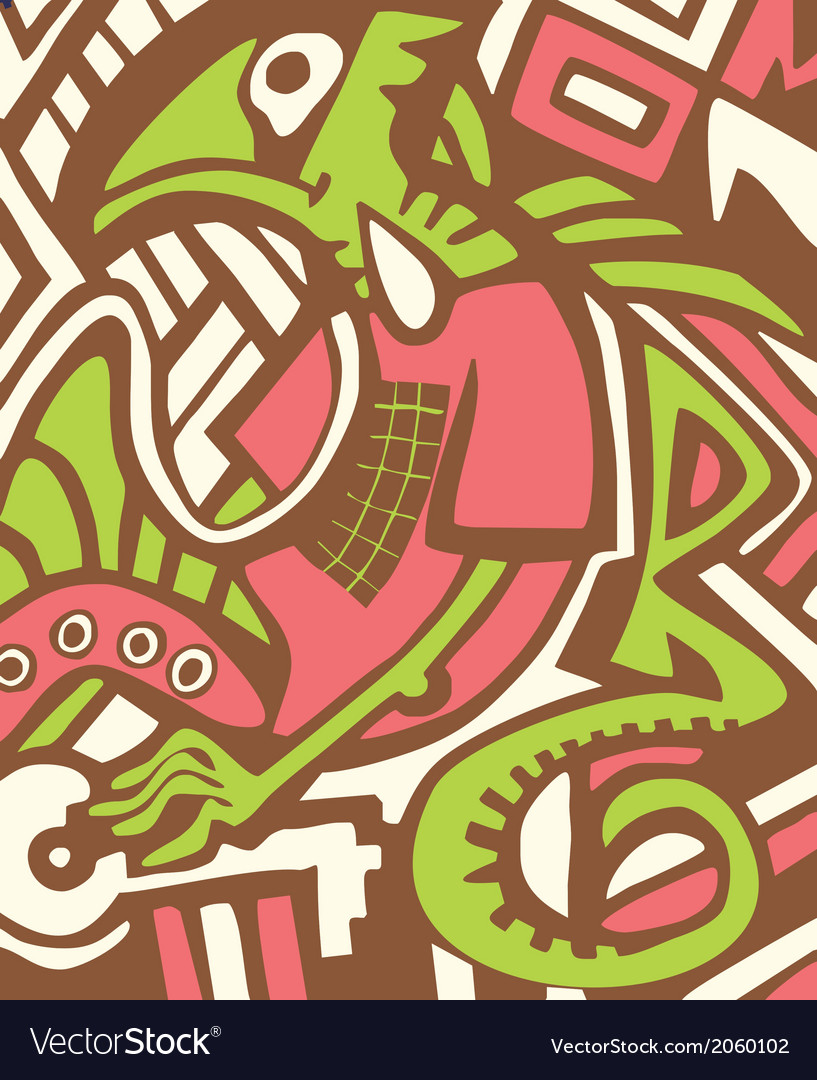 Graffiti sketch with dragon vector | Price: 1 Credit (USD $1)