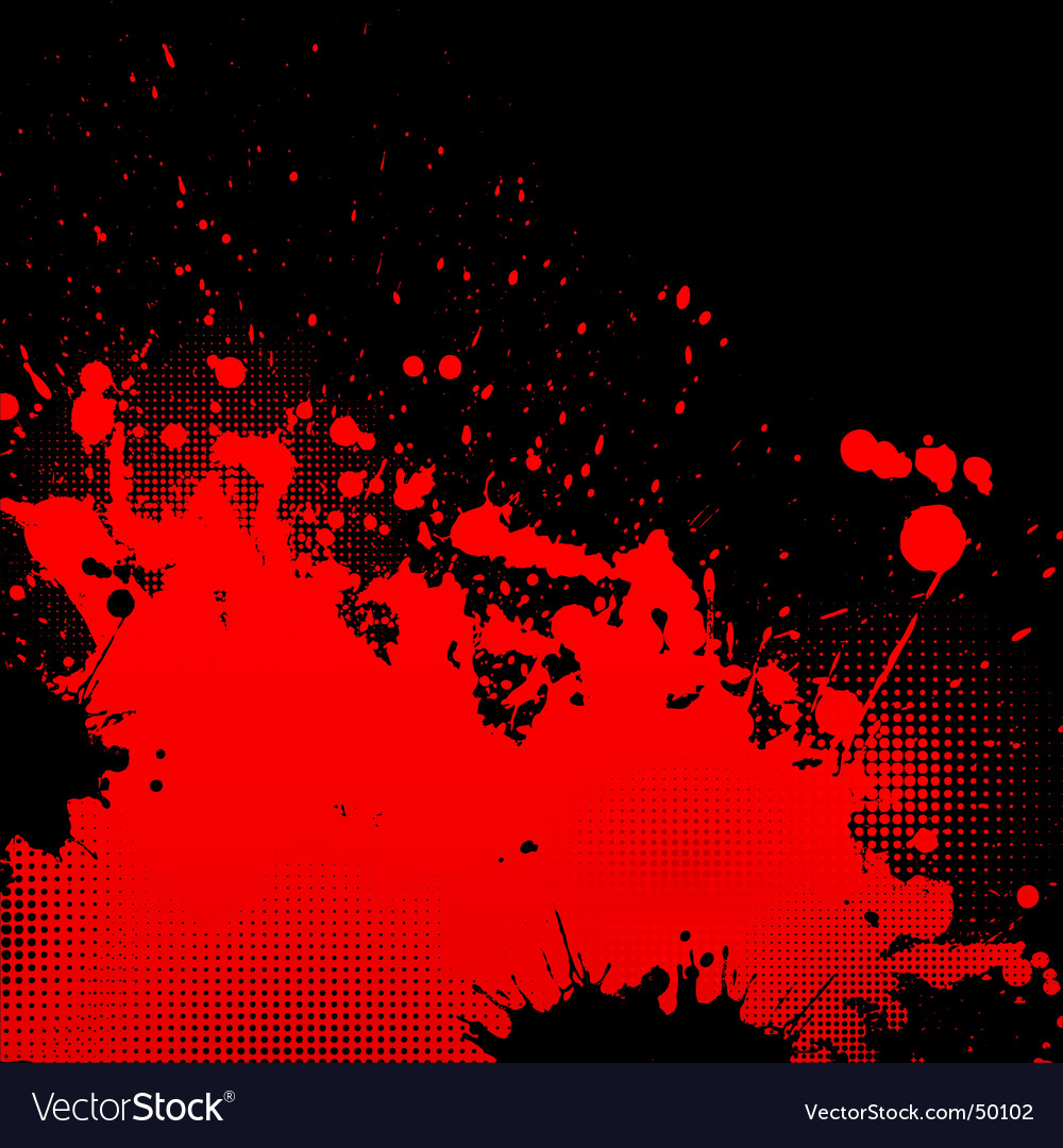 Grunge splatter background vector | Price: 1 Credit (USD $1)