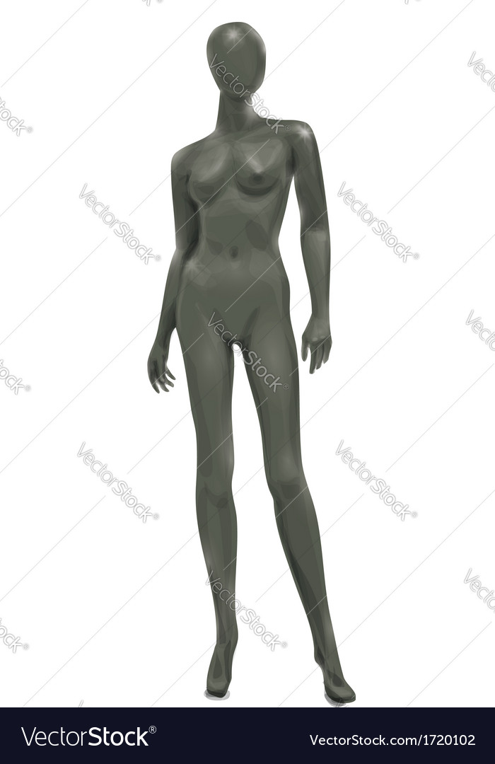 Woman mannequin vector | Price: 1 Credit (USD $1)