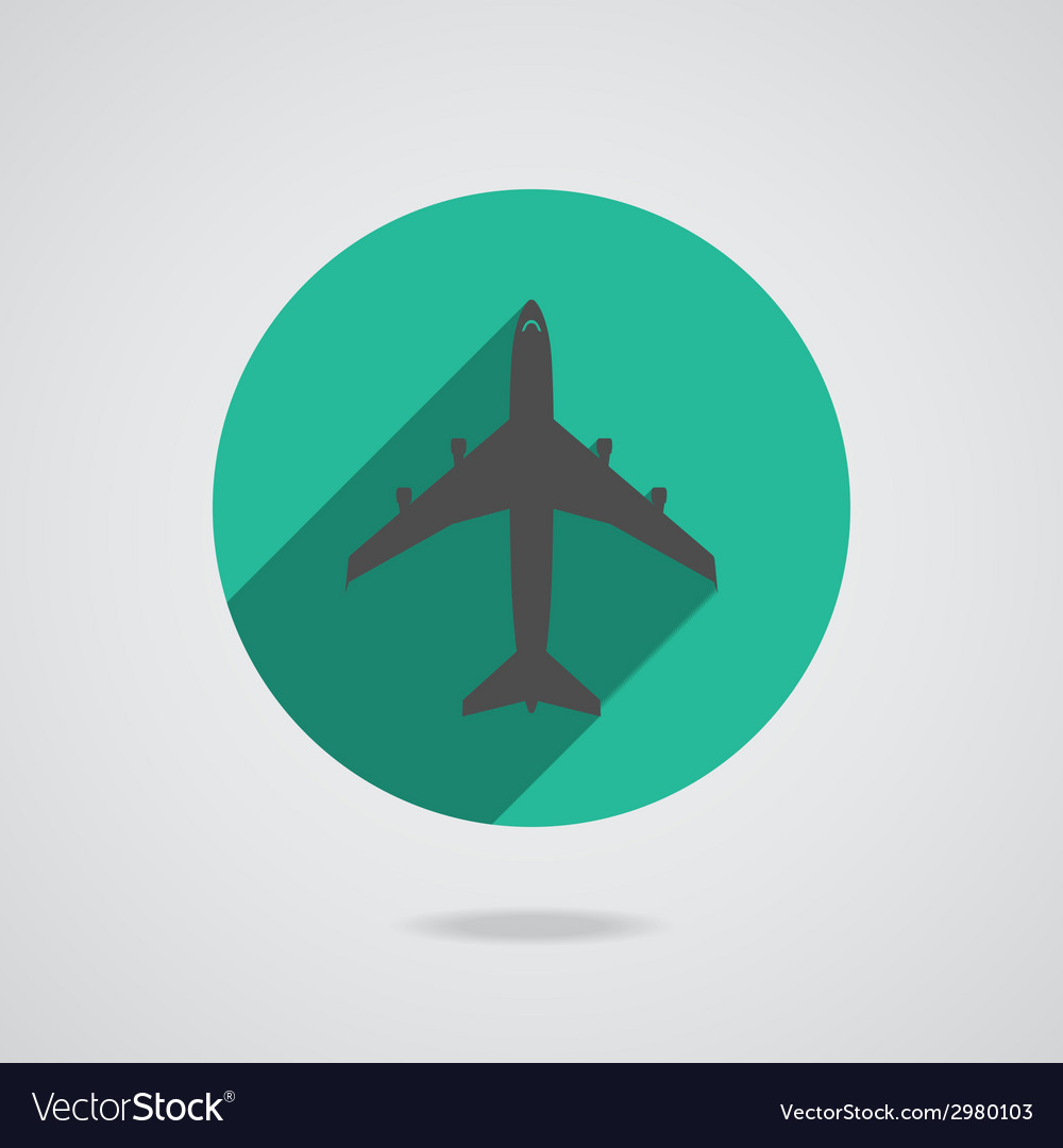 Airplanes icons vector | Price: 1 Credit (USD $1)