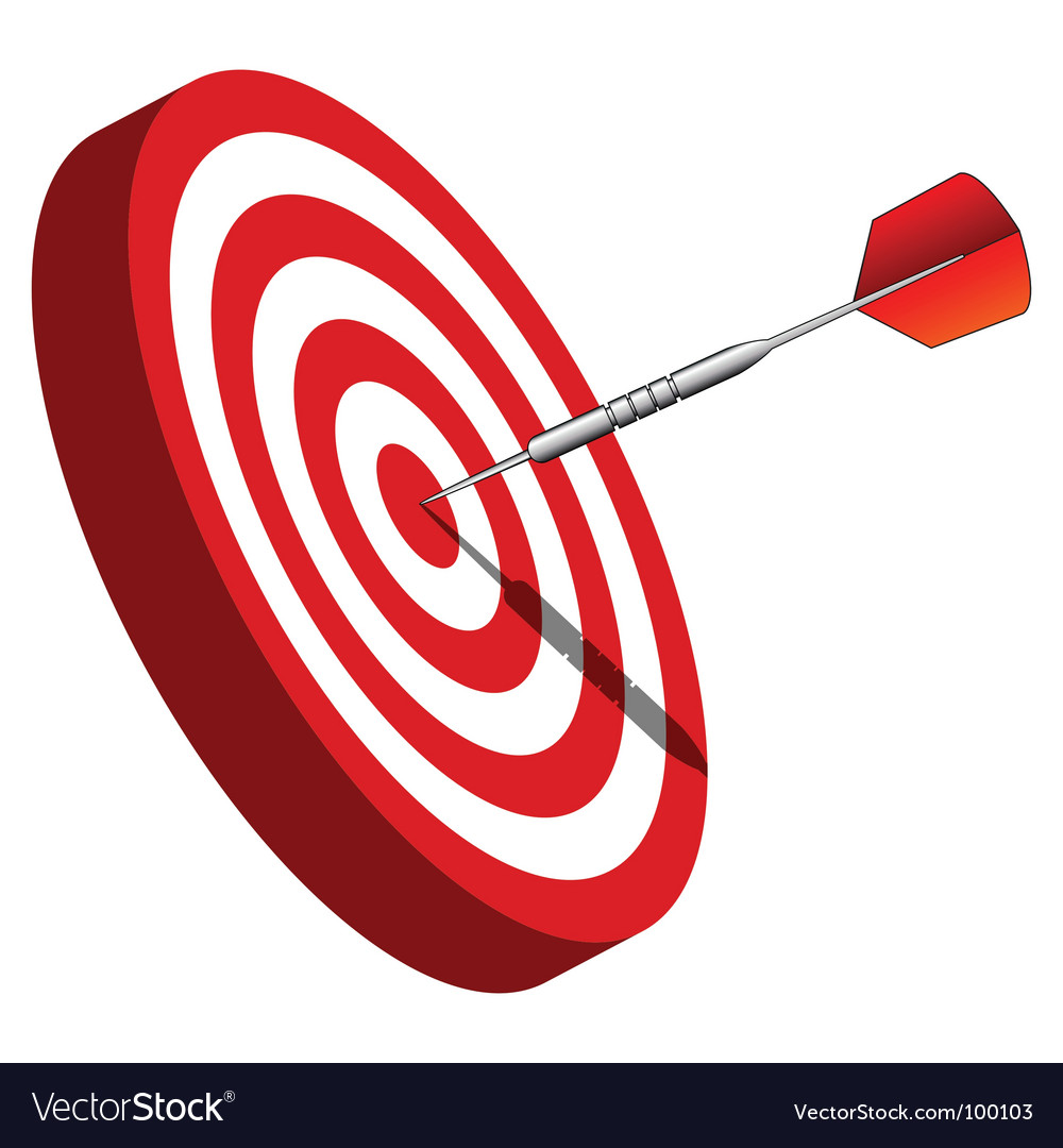Bullseye vector | Price: 1 Credit (USD $1)