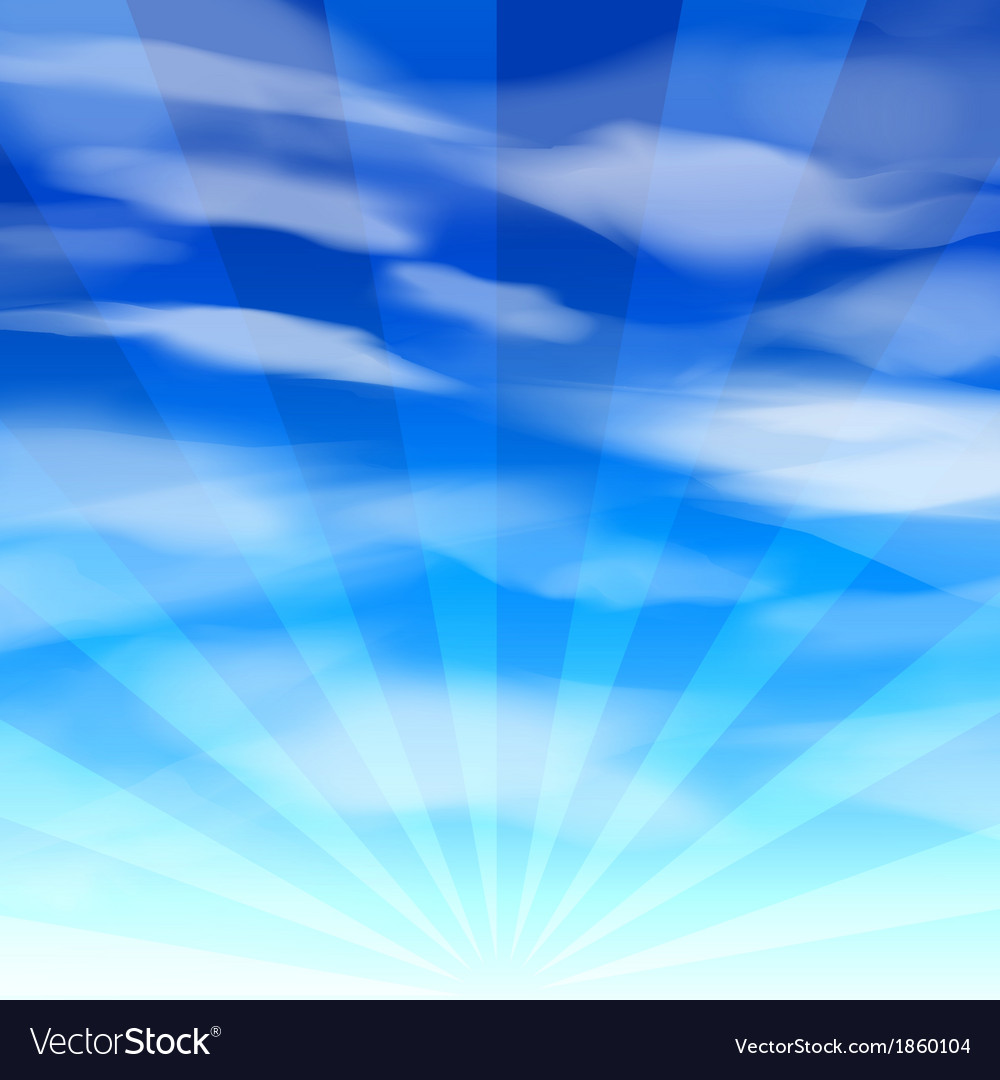 Blue sky background 2 vector | Price: 1 Credit (USD $1)