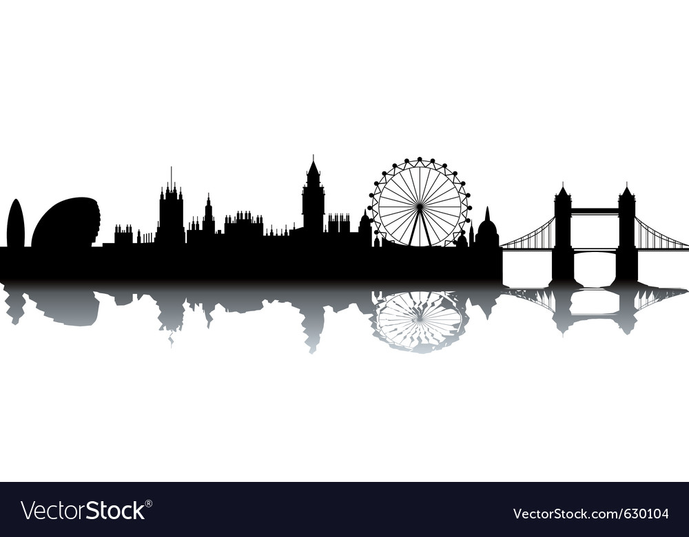 London cityscape vector | Price: 1 Credit (USD $1)