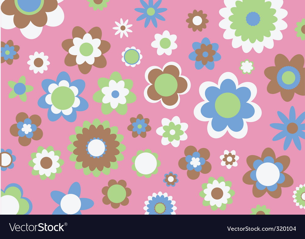 Retro abstract pattern vector | Price: 1 Credit (USD $1)