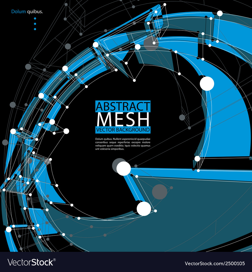 Abstract 3d mesh background abstract conceptual vector   Price: 1 Credit (USD $1)