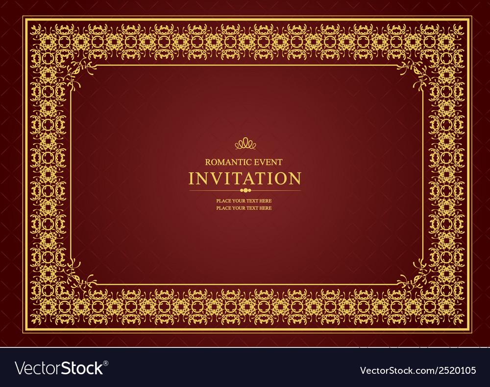 Al 0905 invitation 01 vector | Price: 1 Credit (USD $1)