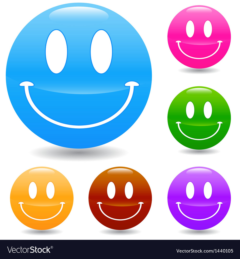 Hand drawn smile face vector | Price: 1 Credit (USD $1)