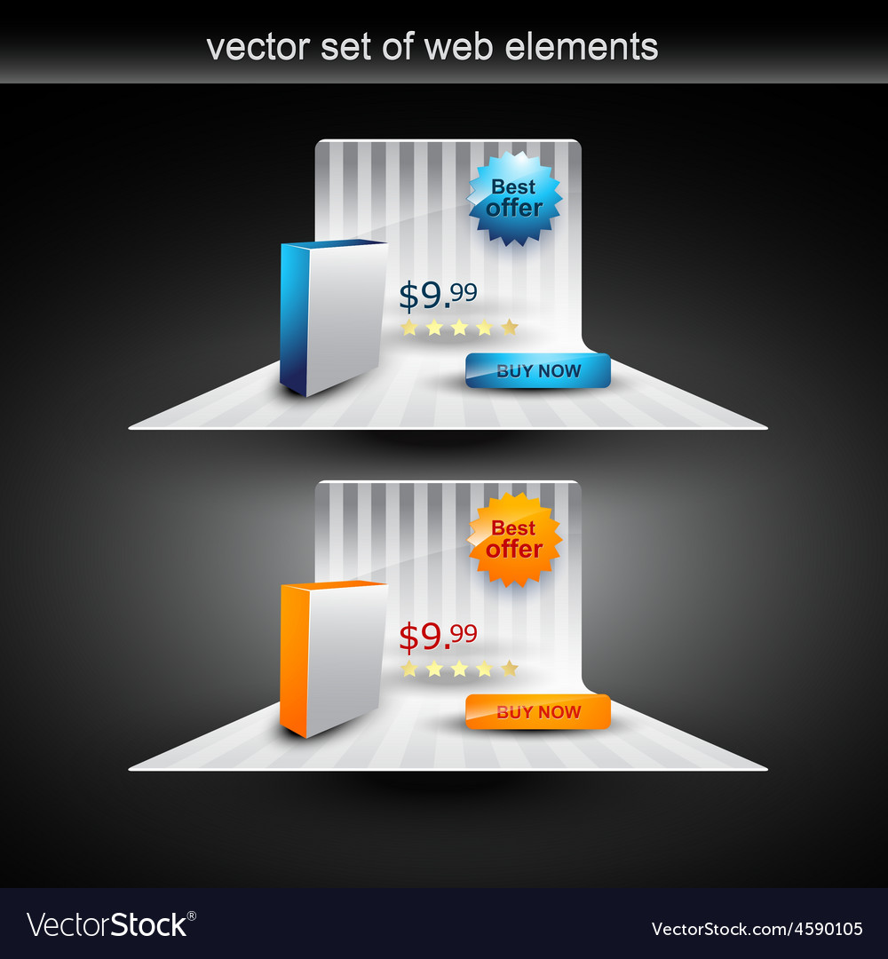 Product display vector | Price: 1 Credit (USD $1)