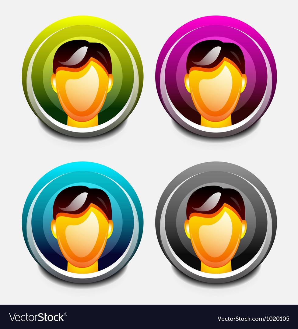 User icon vector   Price: 1 Credit (USD $1)