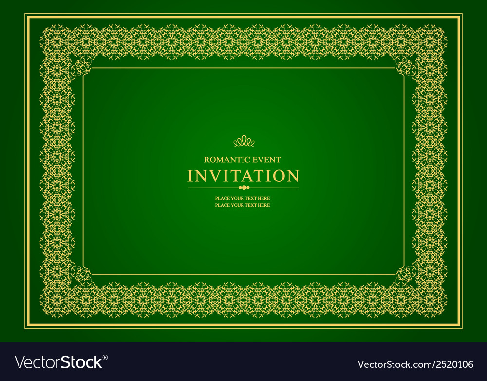 Al 0905 invitation 02 vector | Price: 1 Credit (USD $1)