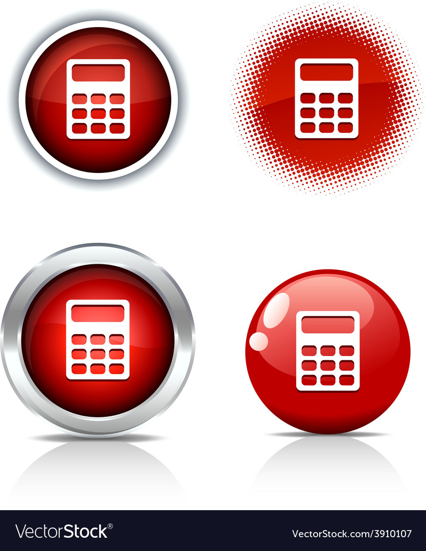 Calculate buttons vector | Price: 1 Credit (USD $1)