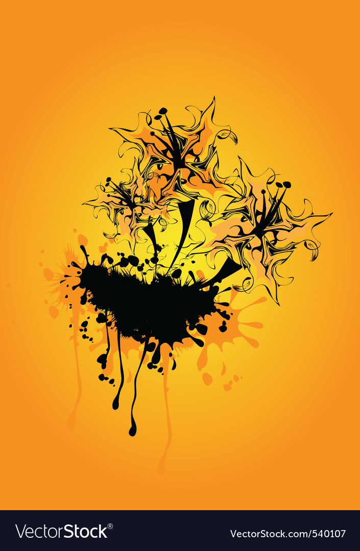 Funky abstract vector | Price: 1 Credit (USD $1)