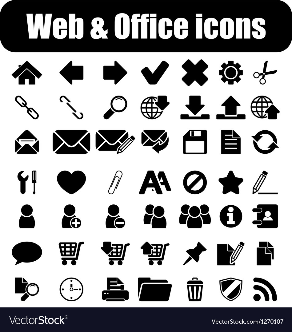 Web and office vector | Price: 1 Credit (USD $1)