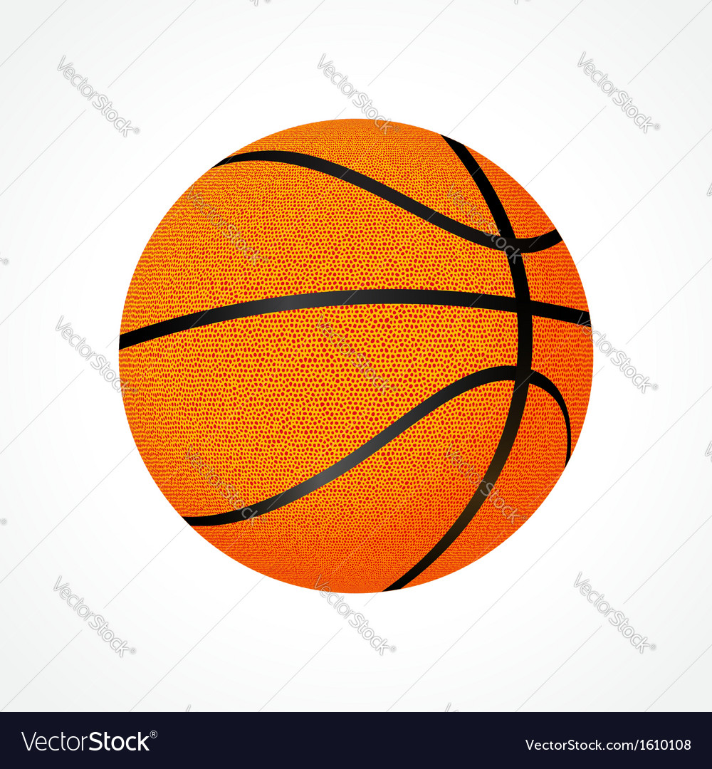Basketball ball vector | Price: 3 Credit (USD $3)