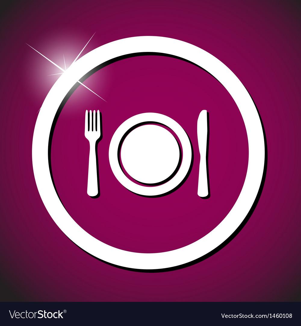 Food icon vector | Price: 1 Credit (USD $1)