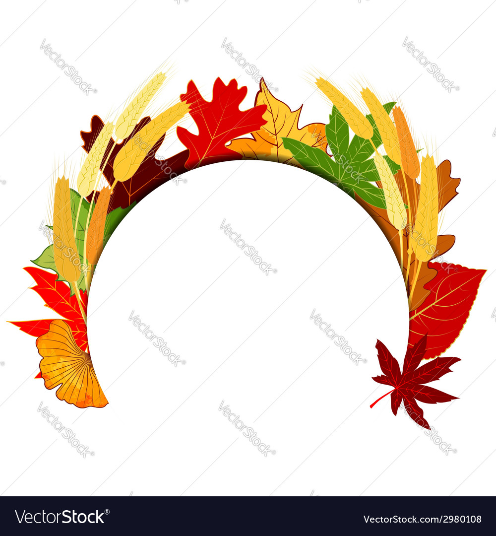 Thanksgiving colorful autumn leaf vector   Price: 1 Credit (USD $1)