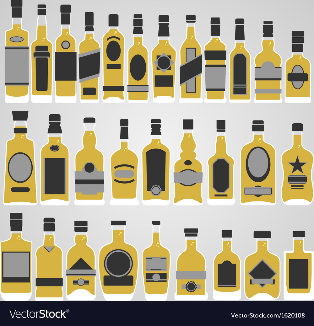 Whisky store vector | Price: 1 Credit (USD $1)