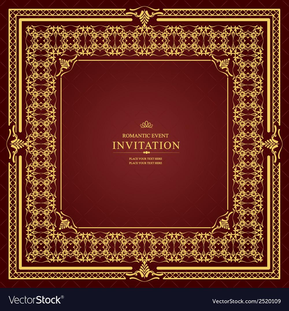 Al 0905 invitation 03 vector | Price: 1 Credit (USD $1)