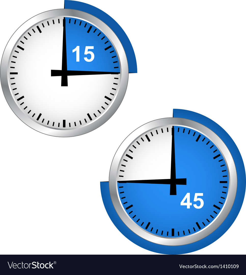 Seconds timer vector | Price: 1 Credit (USD $1)