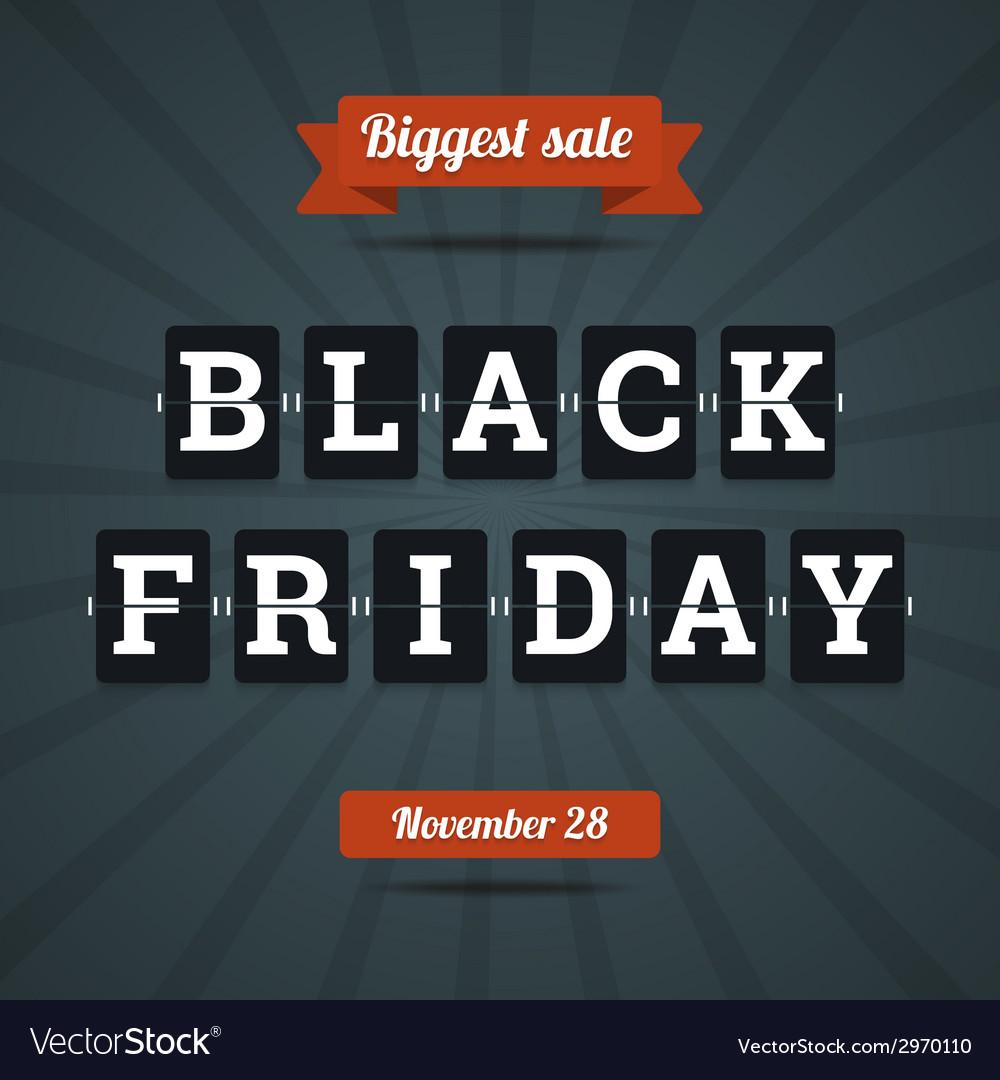 Black friday sale vector | Price: 1 Credit (USD $1)