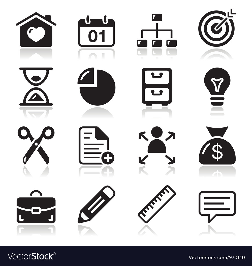 Internet web icons set vector | Price: 1 Credit (USD $1)