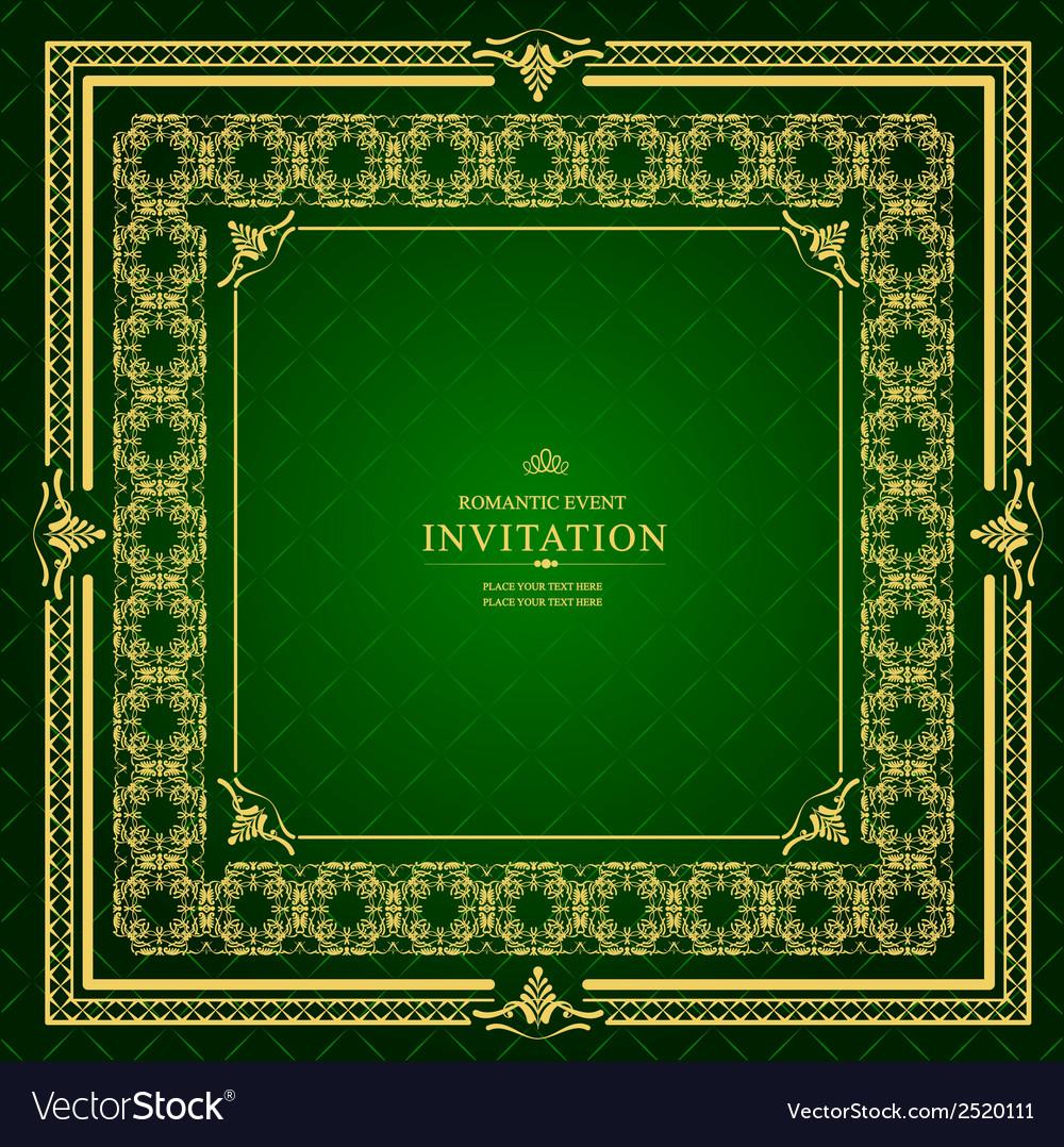 Al 0905 invitation 04 vector | Price: 1 Credit (USD $1)