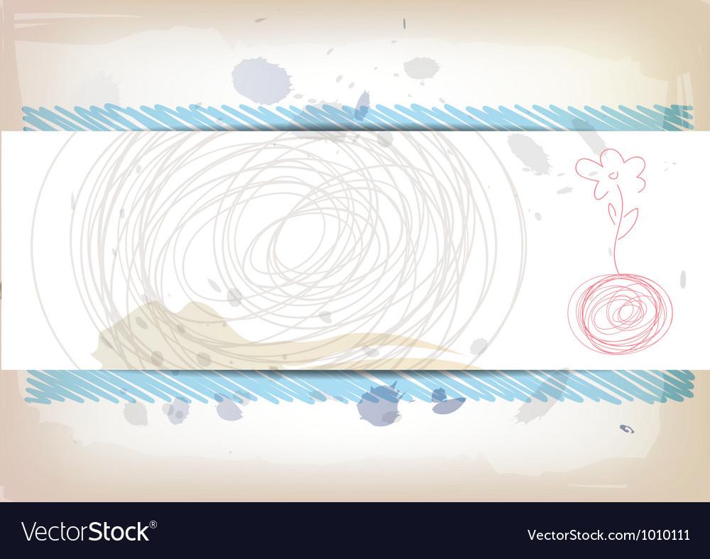 Art banner design vector | Price: 1 Credit (USD $1)
