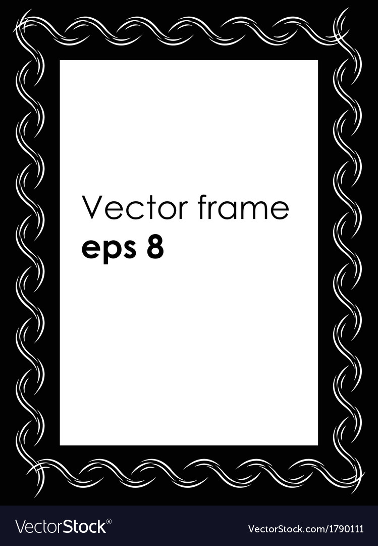 Foto frame vector | Price: 1 Credit (USD $1)