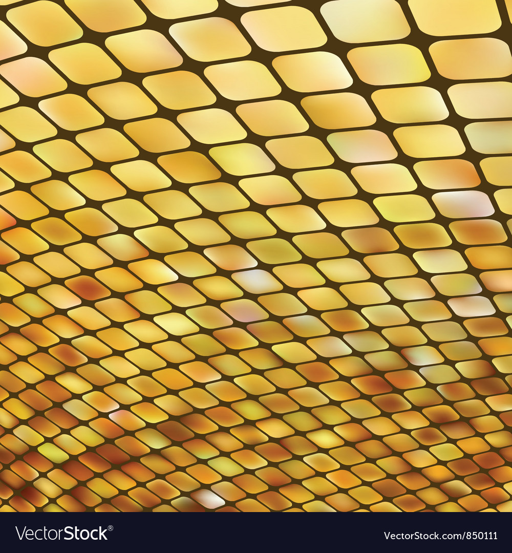 Golden business mosaic vector | Price: 1 Credit (USD $1)