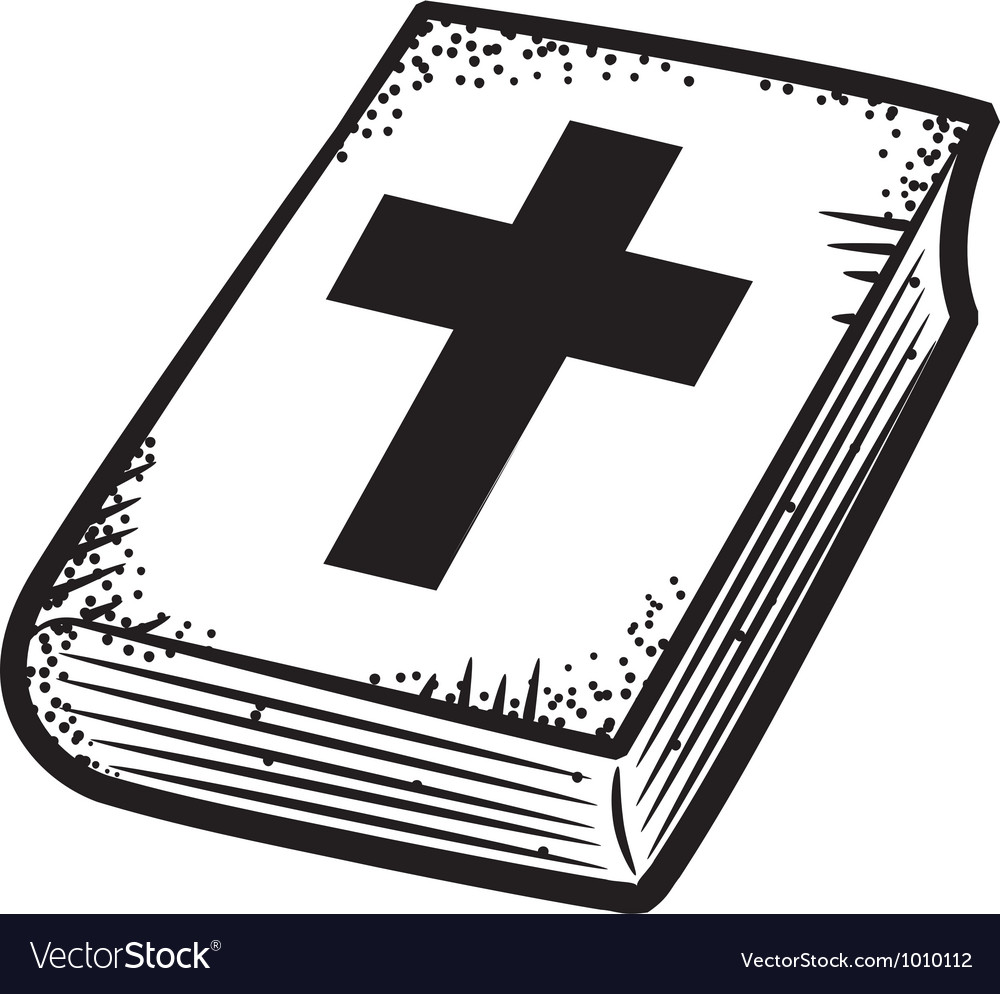 Bible doodle vector | Price: 1 Credit (USD $1)