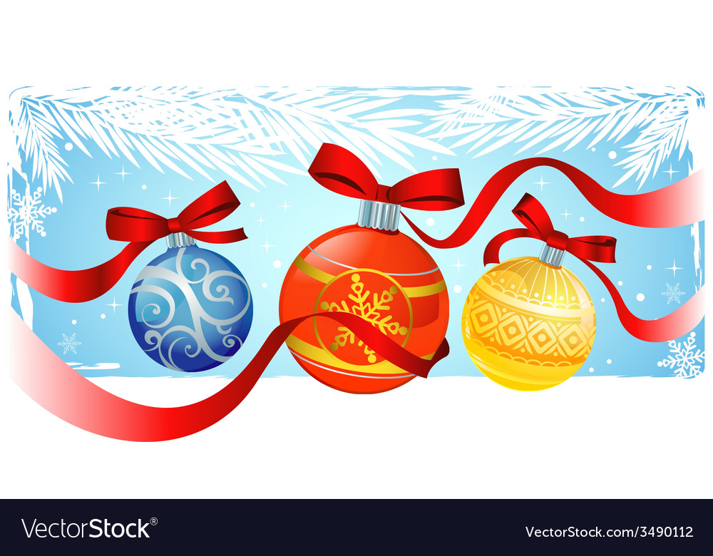 Chrismas greeting card vector | Price: 1 Credit (USD $1)