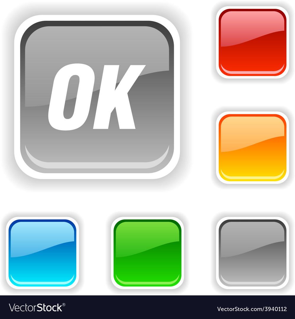 Ok button vector   Price: 1 Credit (USD $1)