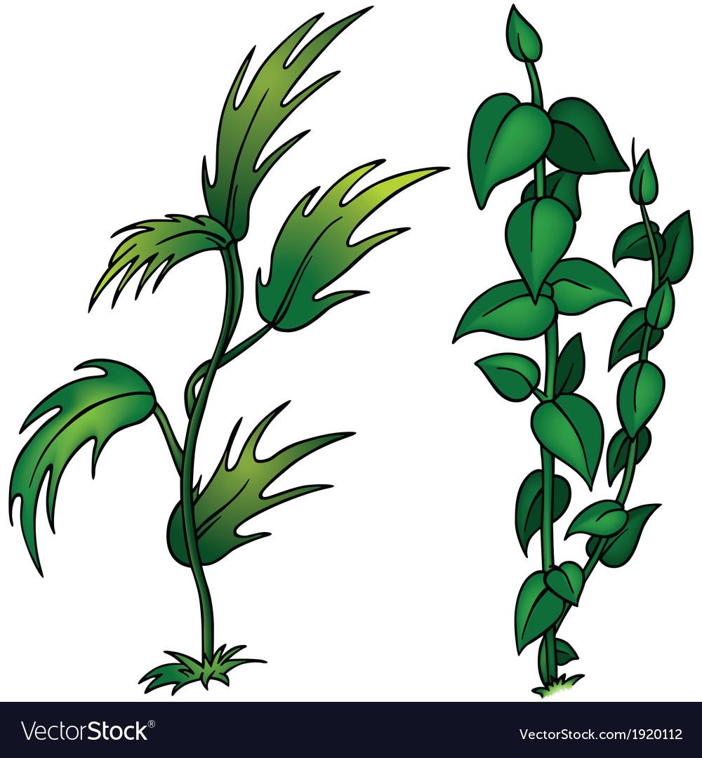 Plant set vector | Price: 1 Credit (USD $1)