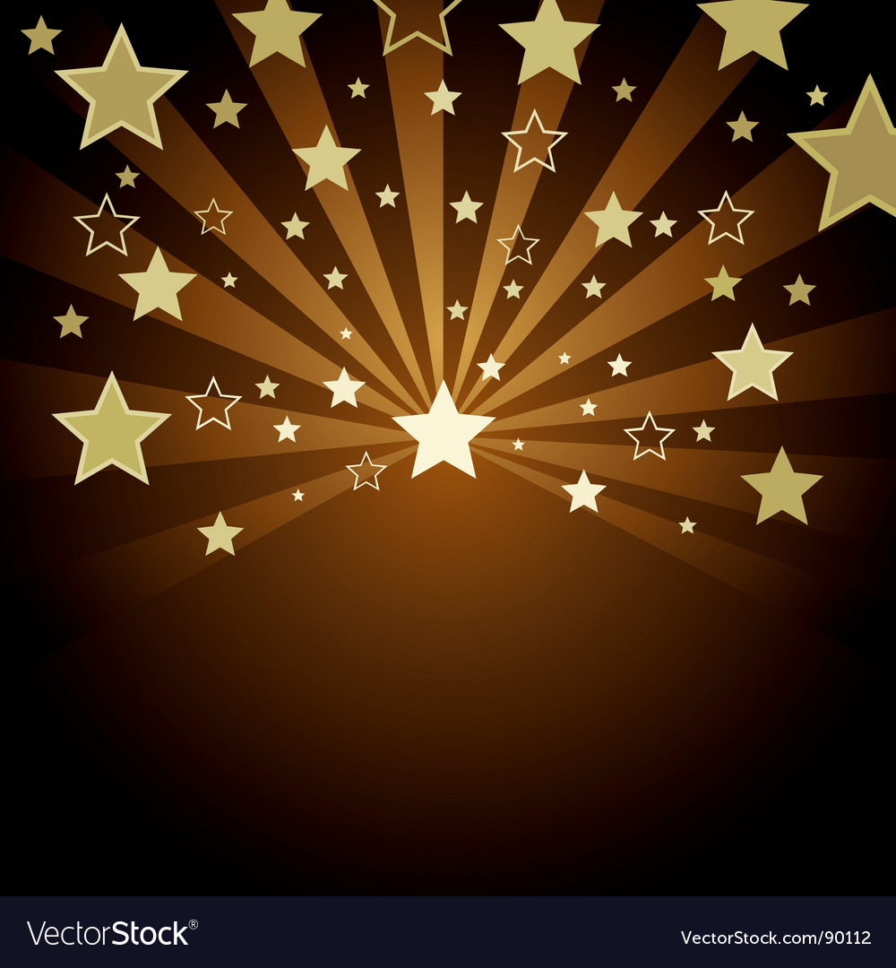 Star color vector | Price: 1 Credit (USD $1)