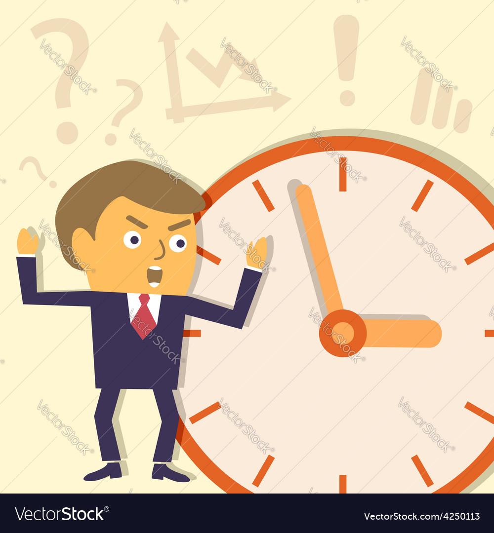 Businessman not in target vector | Price: 1 Credit (USD $1)