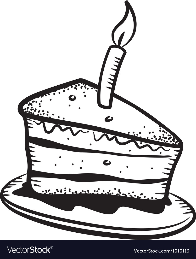 Cake doodle vector | Price: 1 Credit (USD $1)