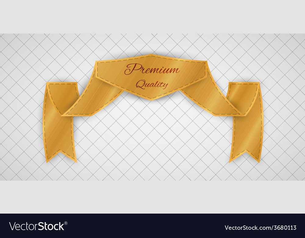 Gold quality label vector | Price: 1 Credit (USD $1)