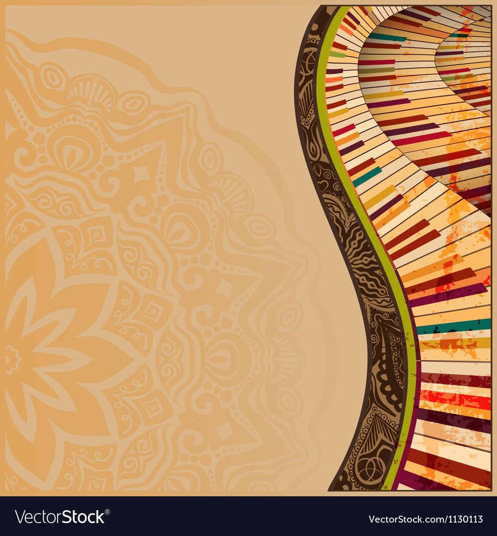 Musical background2 vector | Price: 1 Credit (USD $1)