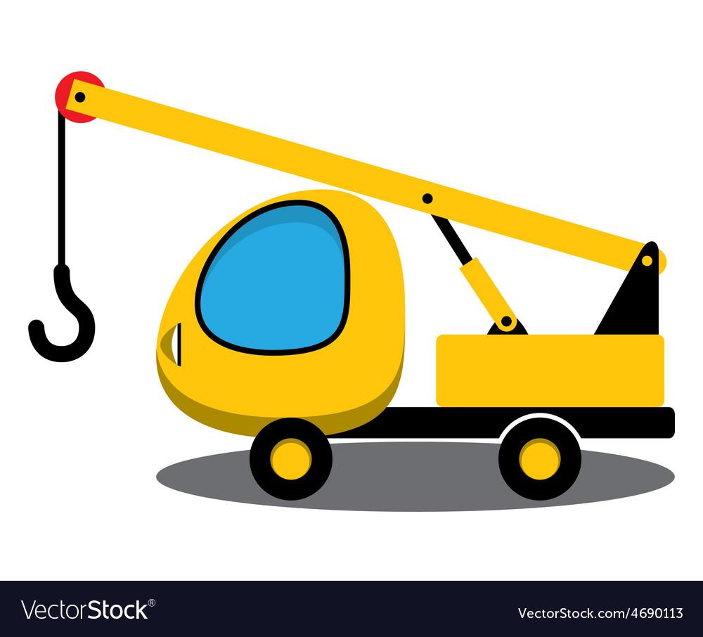 Toy crane vector | Price: 1 Credit (USD $1)