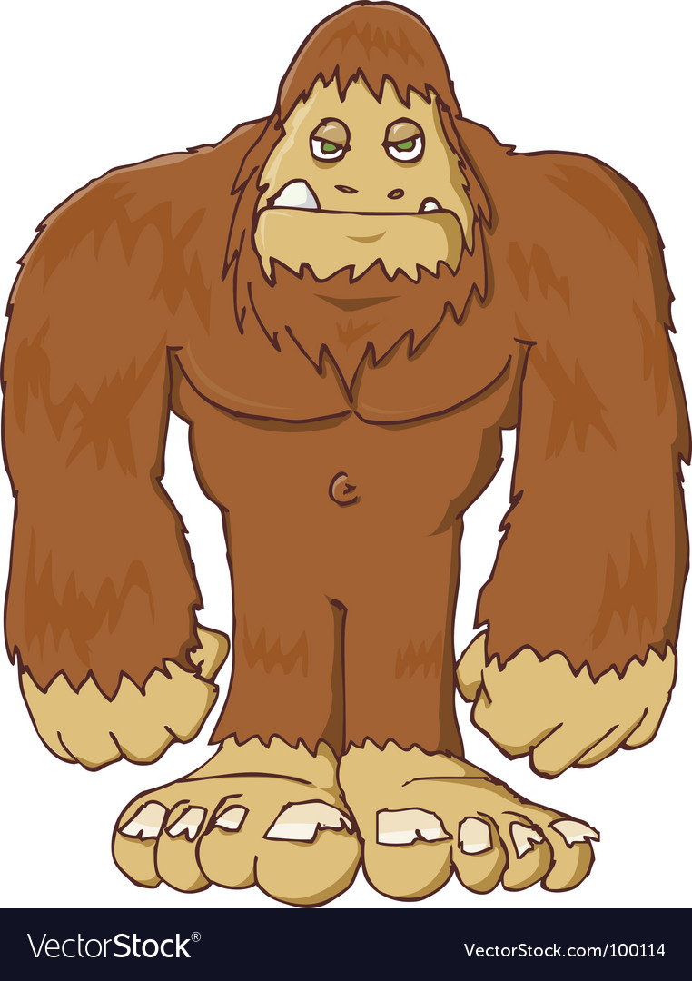 Big foot vector | Price: 1 Credit (USD $1)